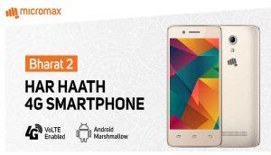 Vodafone micromax Bharat 2 altra