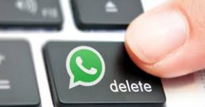 how to delete send message in whatsapp