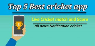 Best live cricket match app