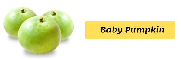 Apple Gourd/Round Gourd/Baby Pumpkin