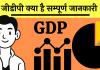 full form GDP kya hai GDP Formula hindi