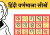Varanamala Hindi Alphabet learn and speak hindi me