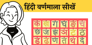 Varanamala Hindi Alphabet learn and speak hindi me