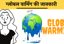 Global Warming essay nibandh hindi